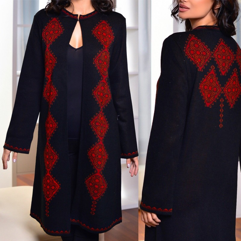Cardigan traditional din tricot - Maria