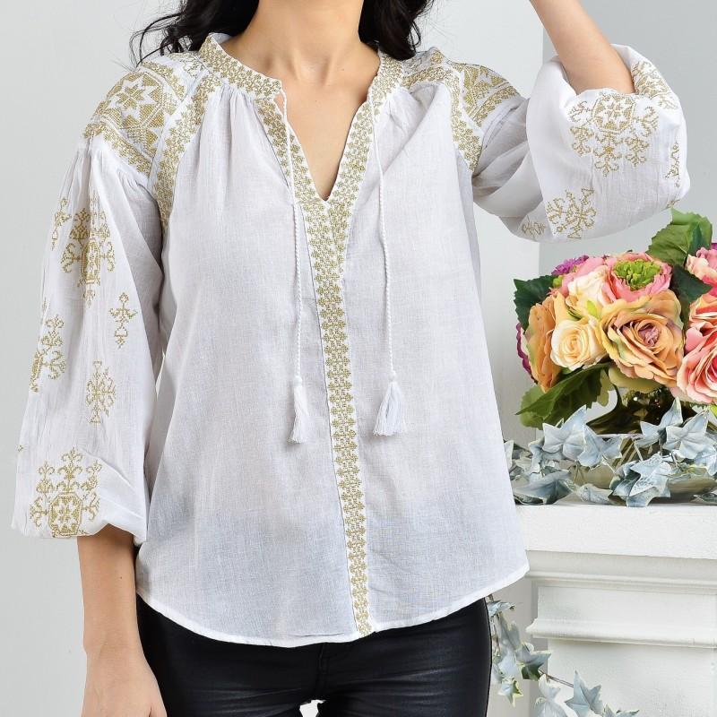 Bluza Traditionala brodata - Ilinca