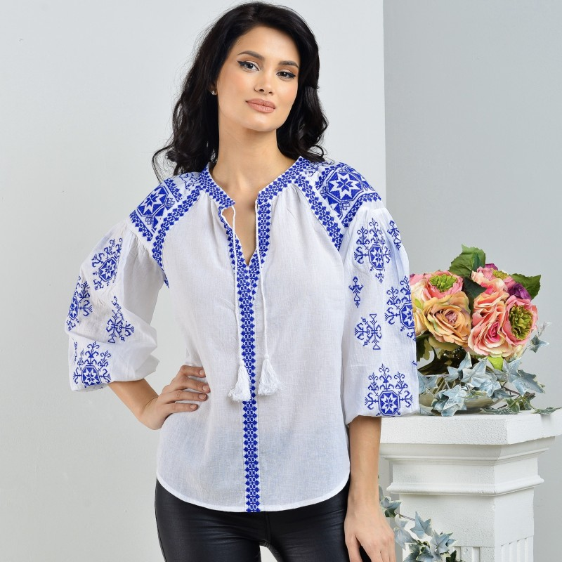 Bluza Traditionala brodata - Ilinca 03