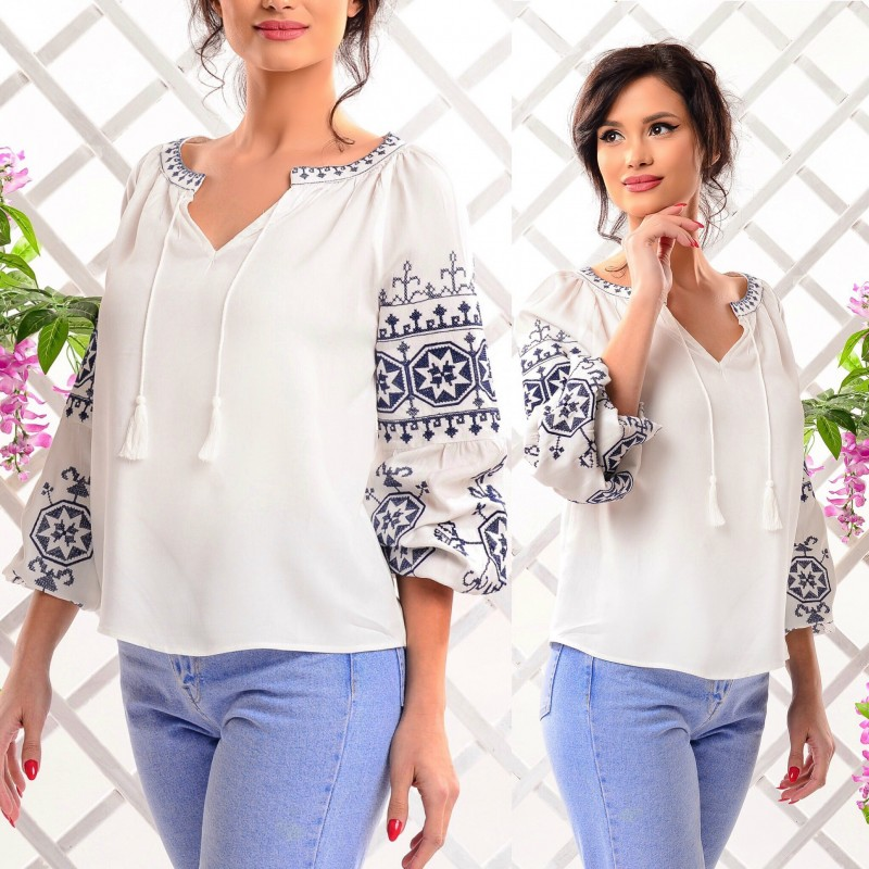 Bluza Nationala brodata - Crina