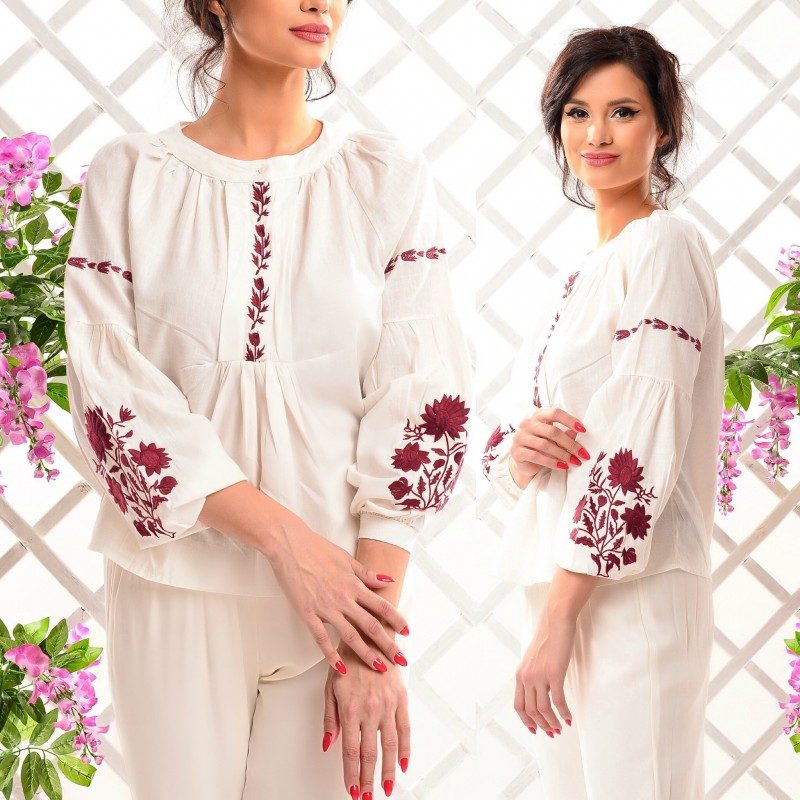 Bluza Nationala brodata - Alma