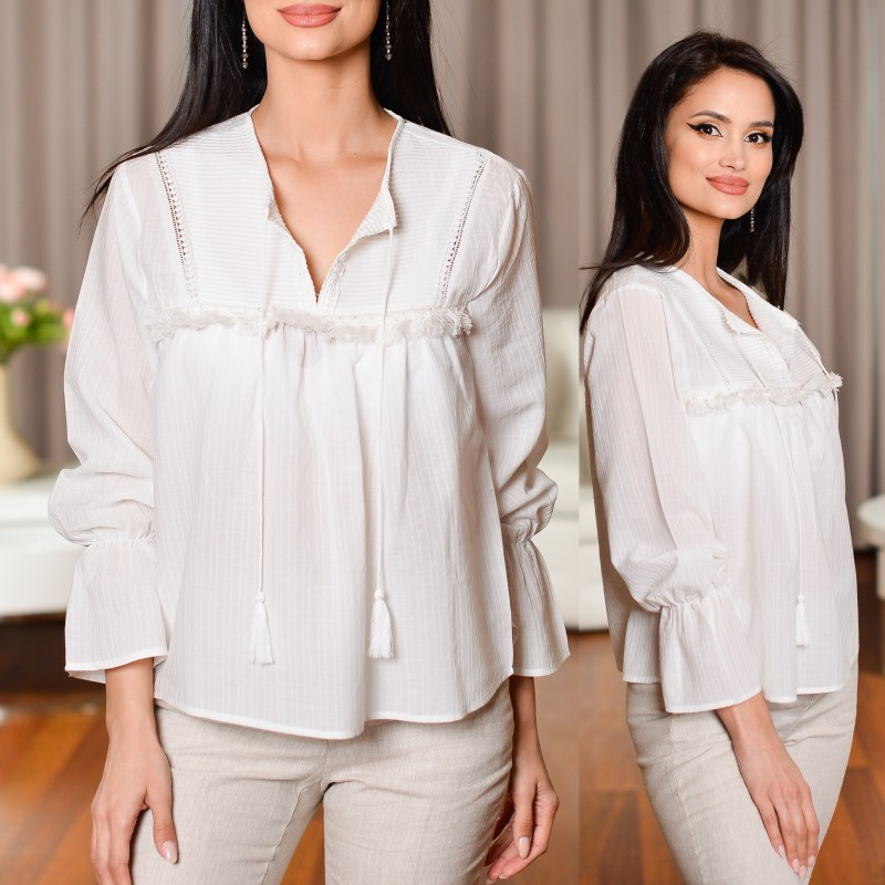 Bluza Nationala - Blanca