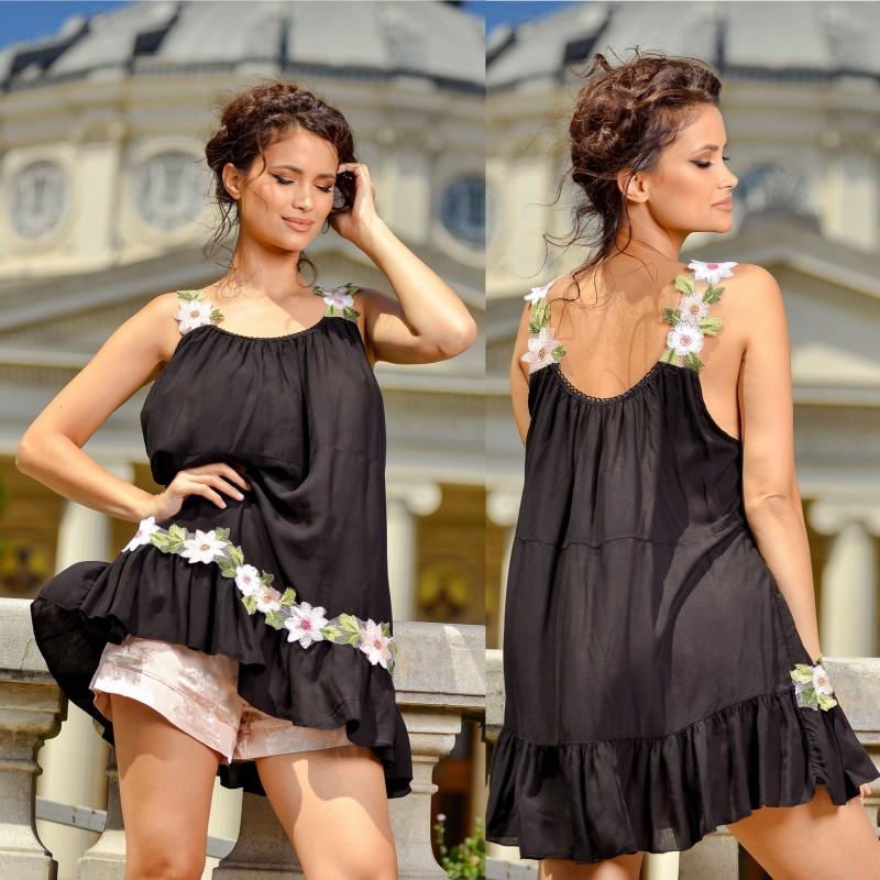 Maiou negru stilizat - Florina
