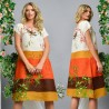 Rochie lejera cu imprimeu floral - Anastasia 01