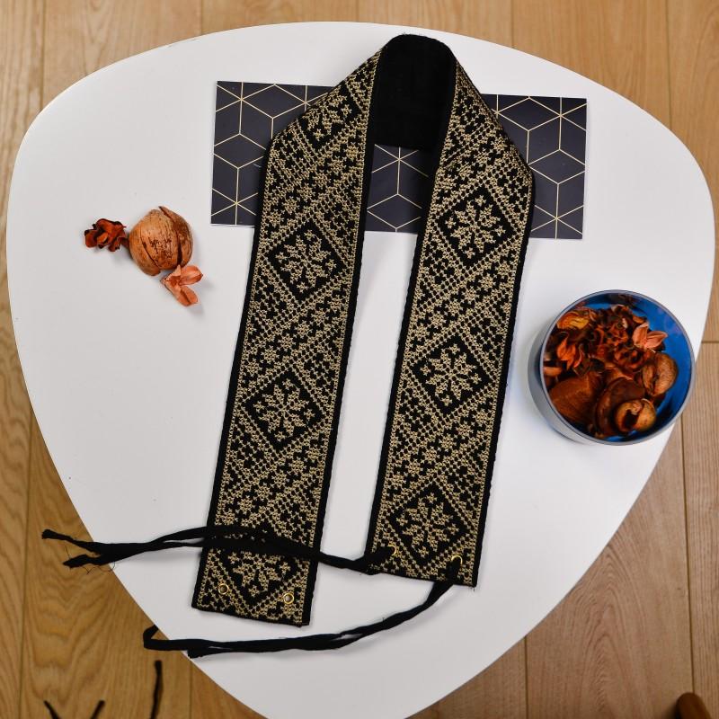 Brau traditional brodat - romb 06