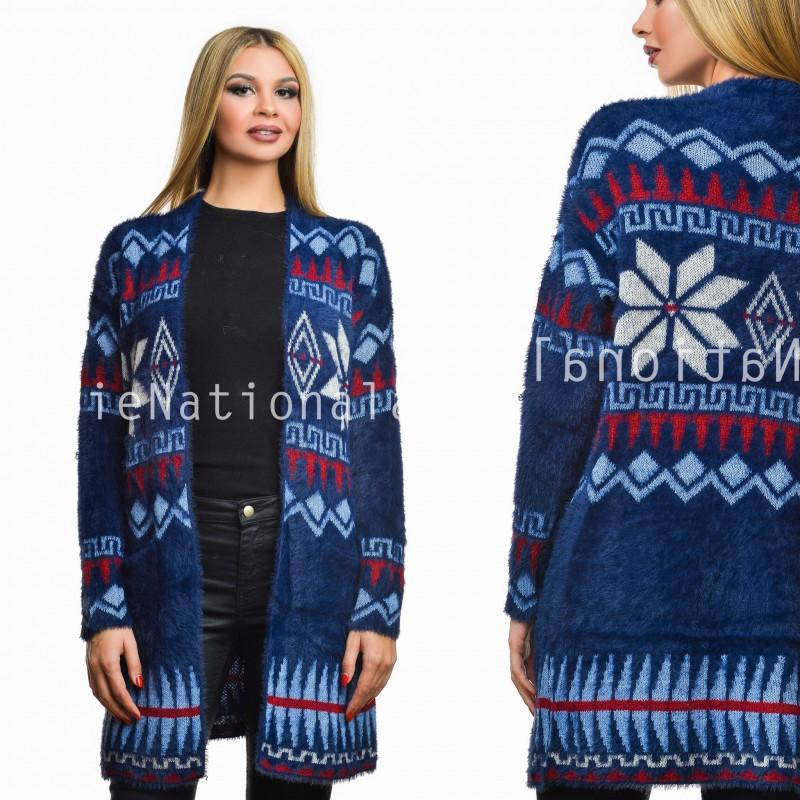 Cardigan din tricot si mohair - Steliana 05