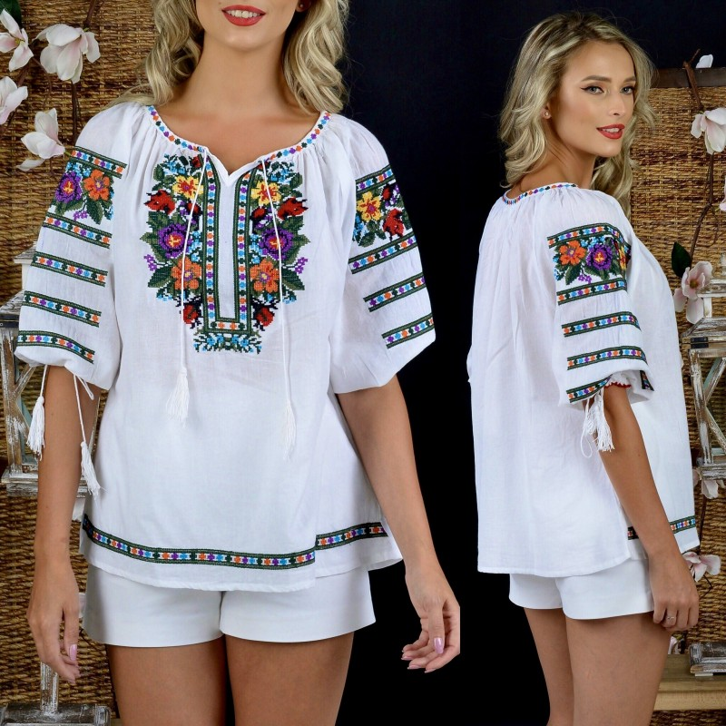 Bluza traditionala BIANCA_2
