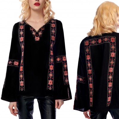 Bluza Nationala brodata - Madalina