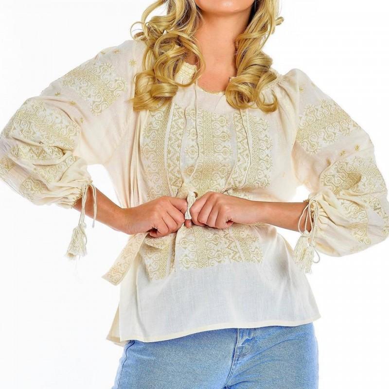 Bluza traditionala brodata - Ileana 02