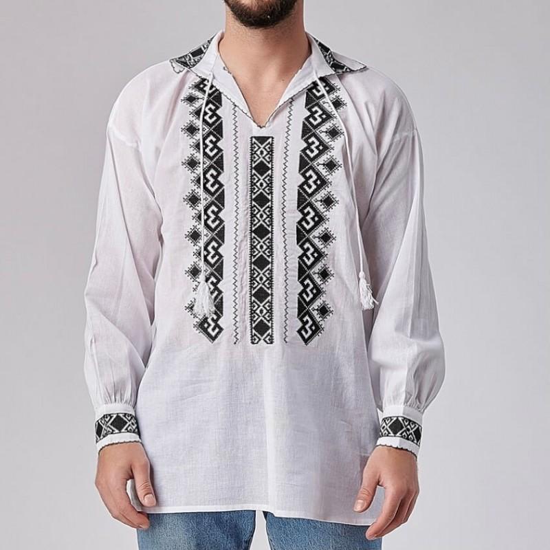 Camasa Traditionala barbateasca - Razvan negru 02