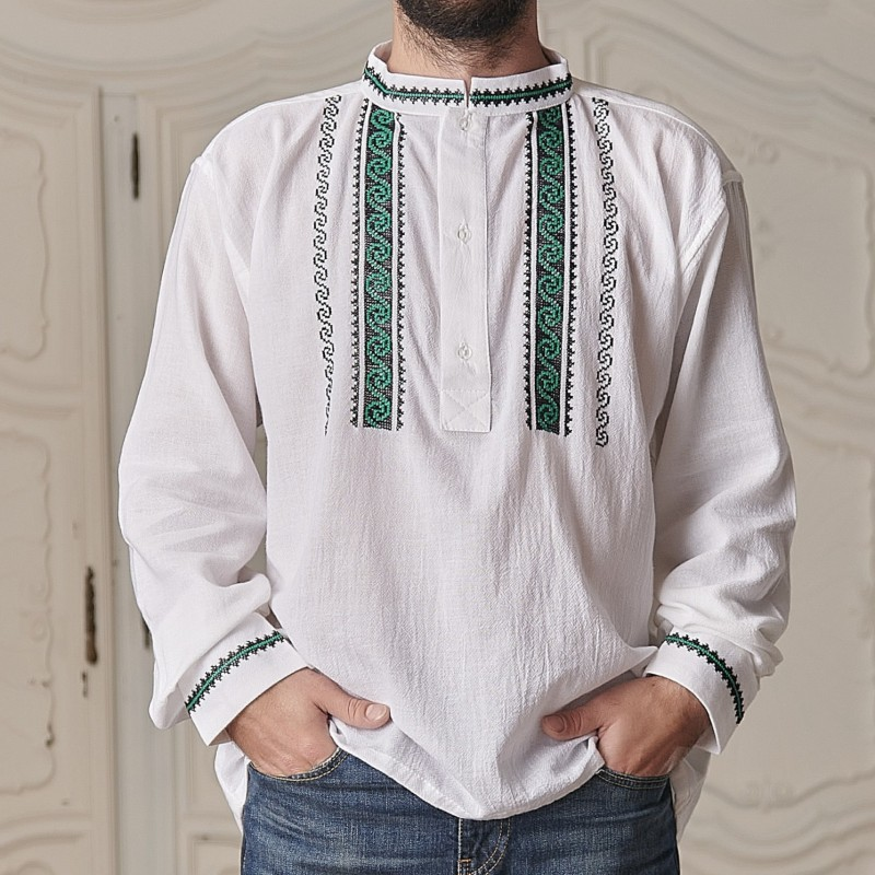 Camasa Traditionala cusuta manual - Radu