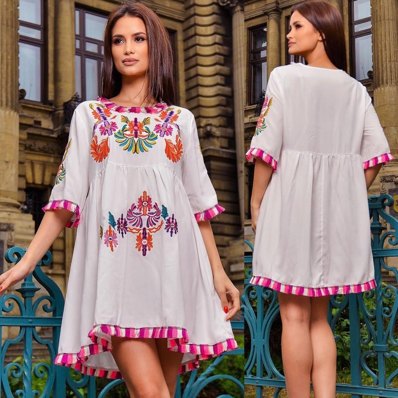 Rochie traditionala stilizata Ioana