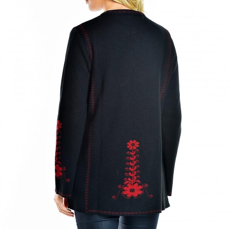 Cardigan din tricot, scurt Camelia 5