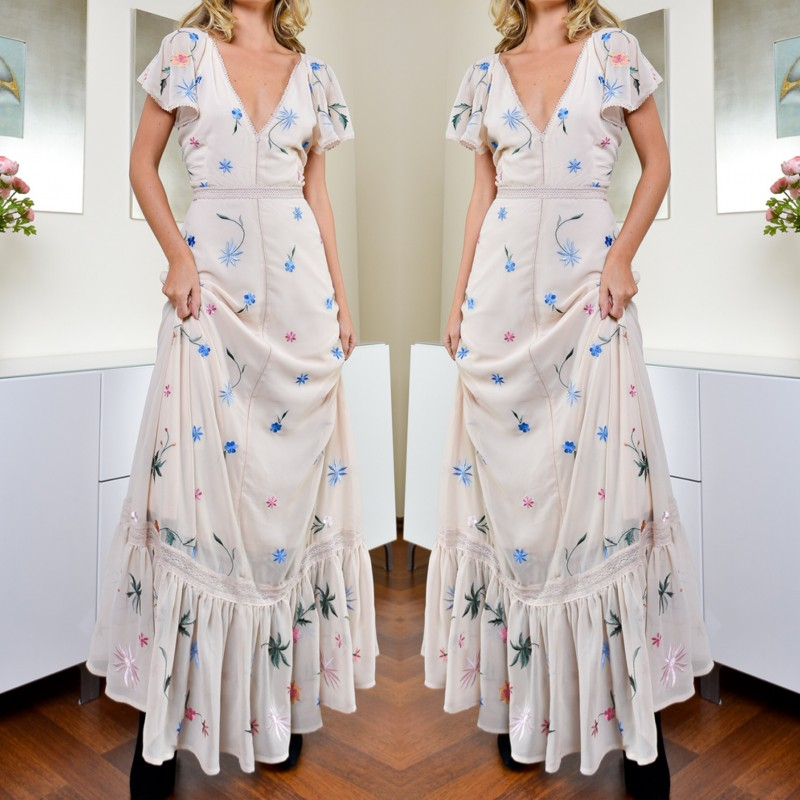Rochie Eleganta Brodata - Camelia