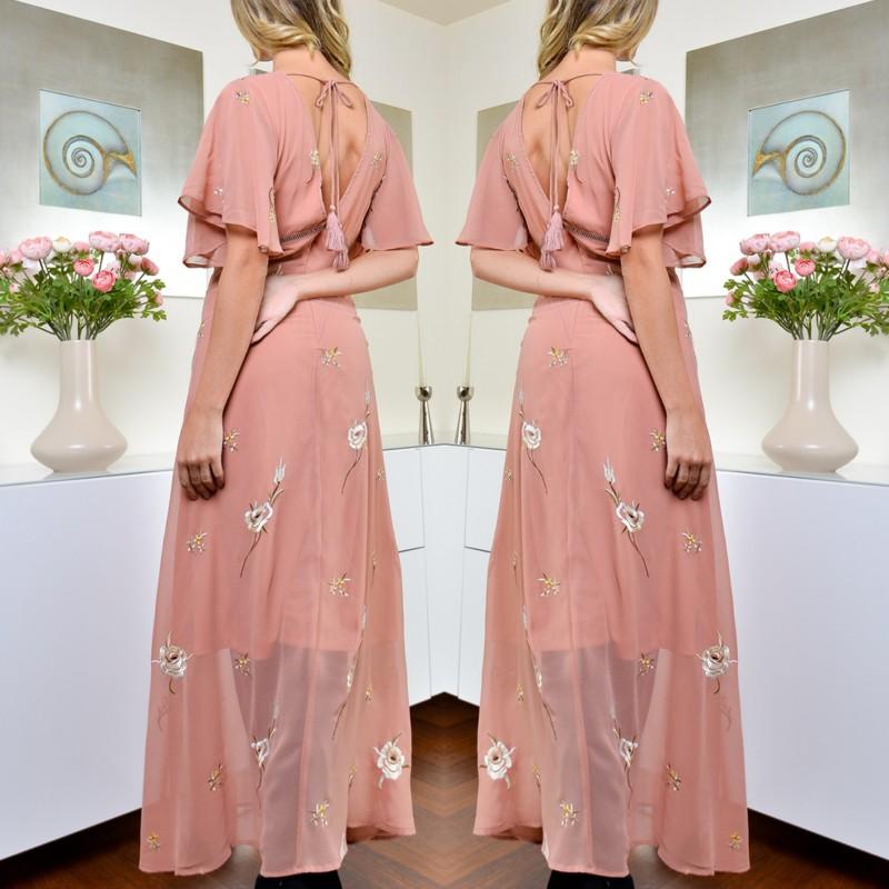 Rochie Eleganta Brodata - Camelia 02