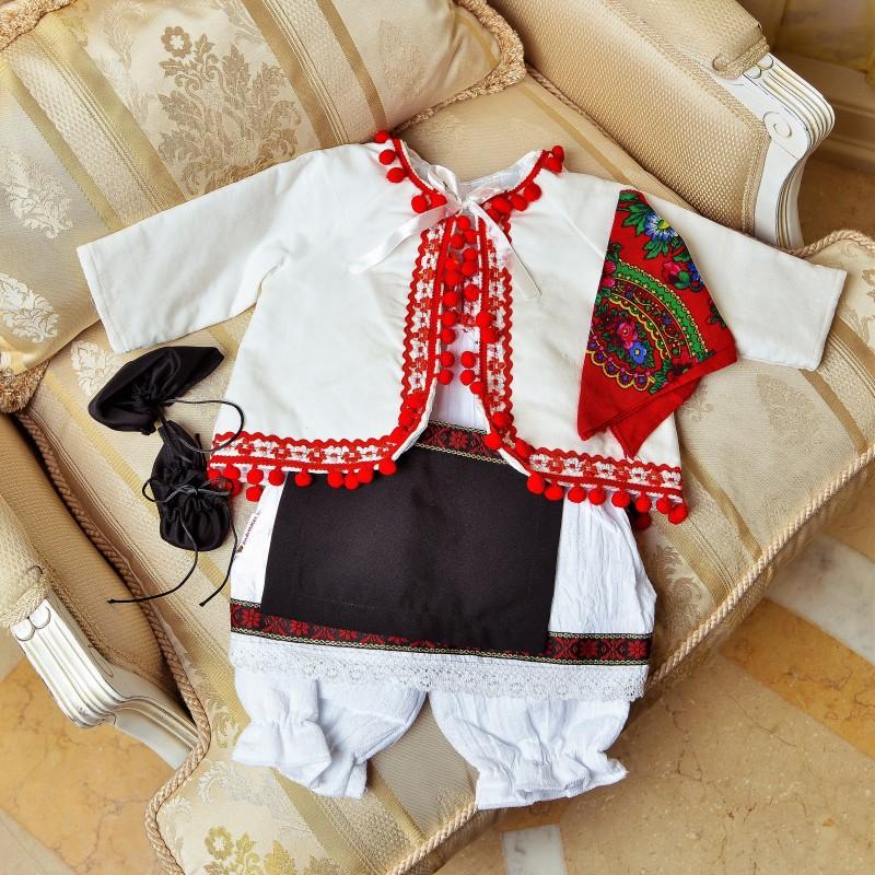Costum traditional fete Nadia