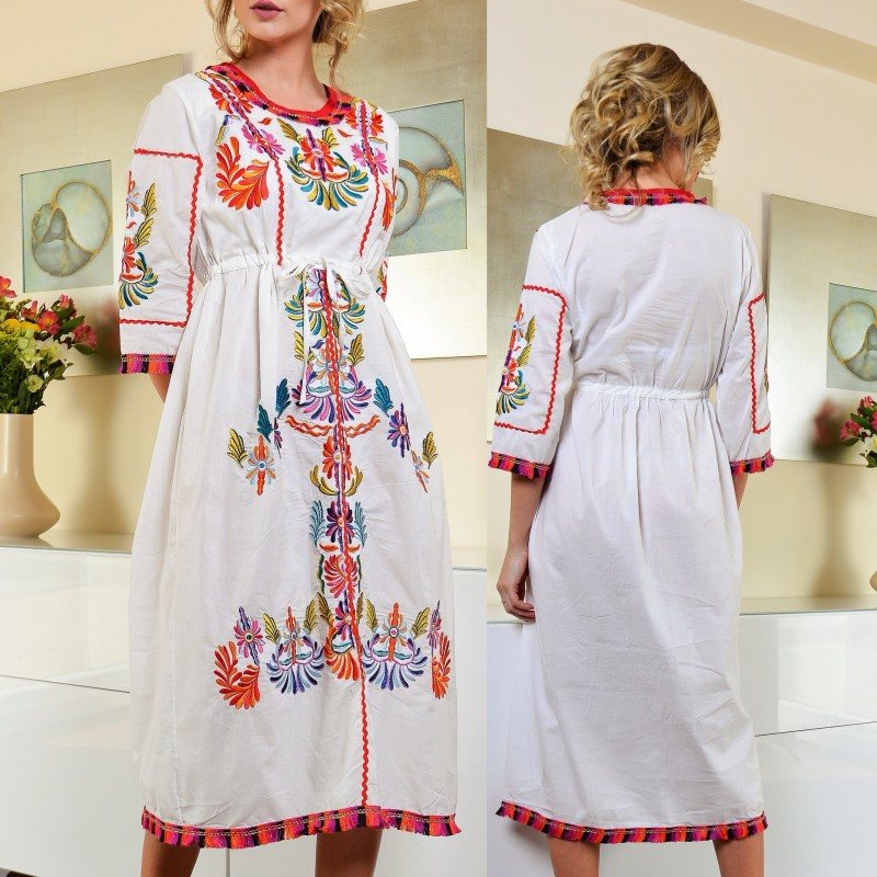 Rochie traditionala stilizata Ilinca