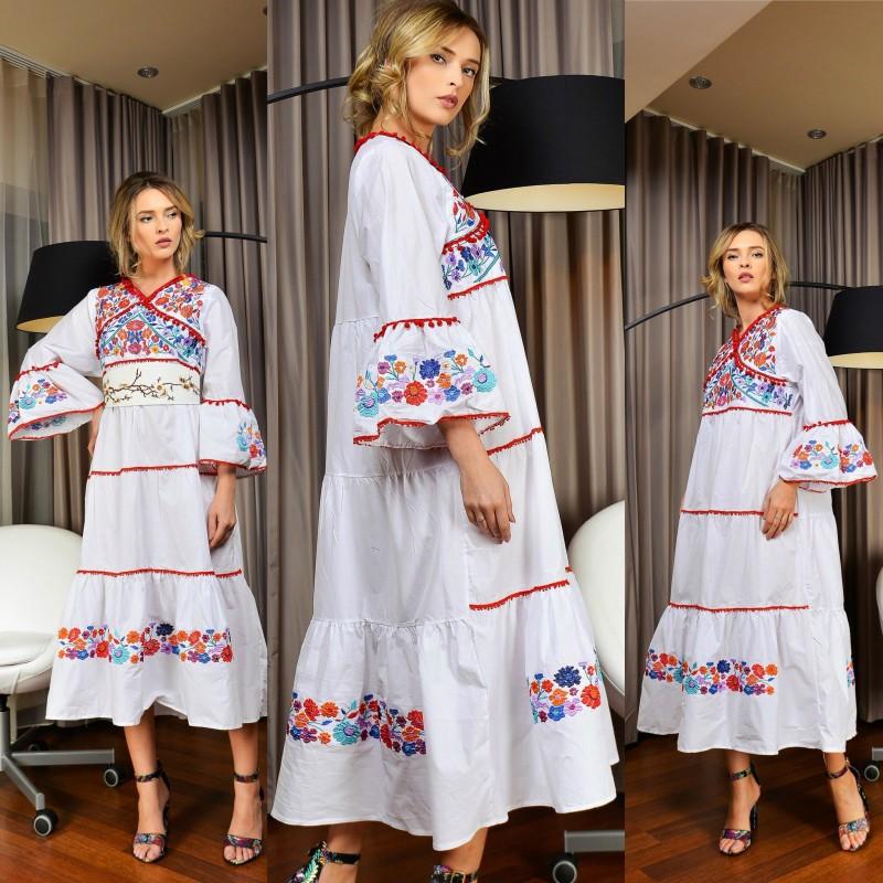 Rochie traditionala stilizata Ileana